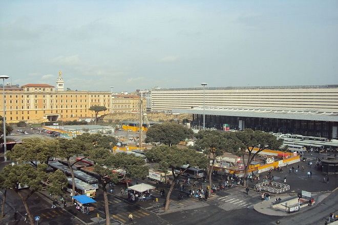 Piazza dei cinquecento - ph Comune di Roma
