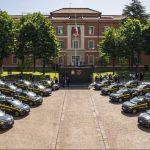 Alla Guardia di Finanza la flotta di Peugeot e-208 100% elettriche attraverso il noleggio di Leasys