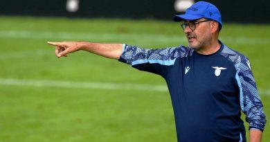 Sarri - ph profilo ufficiale Lazio