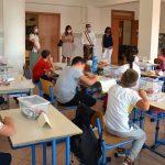 Primo giorno di scuola a Pomezia: il saluto delle istituzioni