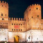 Rinnovata l'illuminazione artistica di Porta San Sebastiano