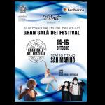 "Dal 14 al 16 ottobre a San Marino l'International Festival Partner ""Gran Galà dei Festival"""
